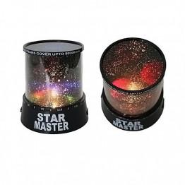 Ночник проектор звездного неба Star Master с адаптером