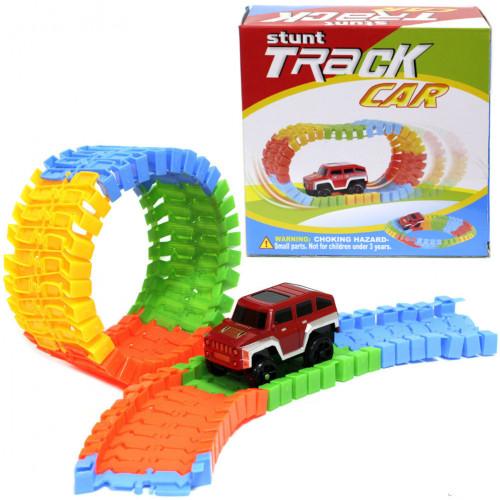 Гибкая чудо-трасса Stunt Track Car