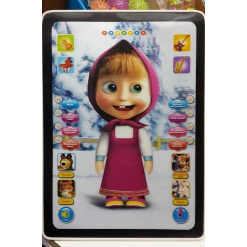 """Детский 3D планшет """"Умная Маша"""""""