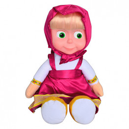 Мягкая кукла Маша, 28 см (5 фраз и 1 песня)