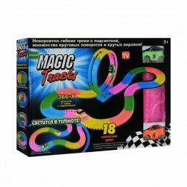Конструктор Magic Tracks 366 деталей (Мертвая петля + 2 машинки)