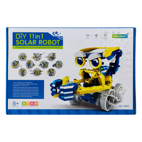 Конструктор DiY Solar Robot 11 в 1