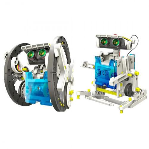 Солнечный робот конструктор 14 в 1