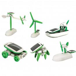 Solar Robot Kits конструктор 6 в 1