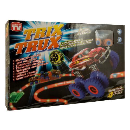 Монстр Траки Trix Trux с 1 машинкой