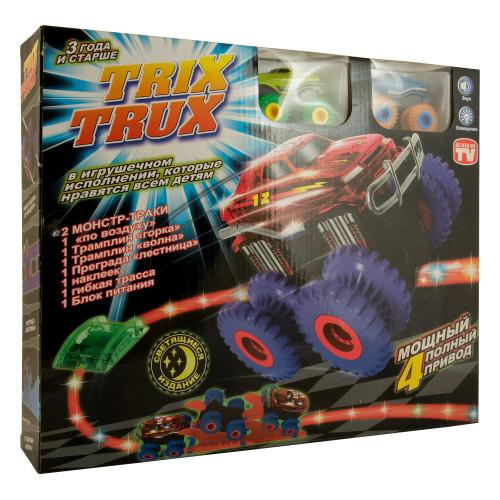 Монстр Траки Trix Trux с 2 машинками