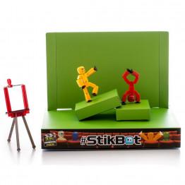 StikBot Анимационная студия со сценой