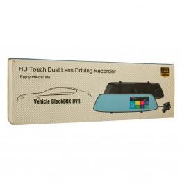 Зеркало видеорегистратор Vehicle Blackbox DVR НD Touch