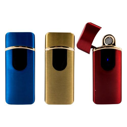 Электронная зажигалка с зарядкой от usb Lighter Classic Fashionable арт.1