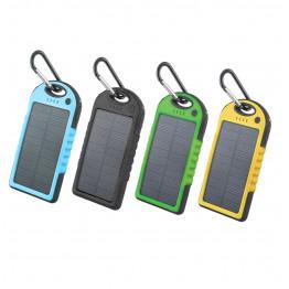 Внешний аккумулятор Power Bank Solar Charger 5000 mAh