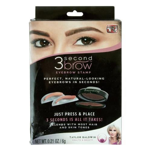 Набор для штампа бровей Second 3 brow
