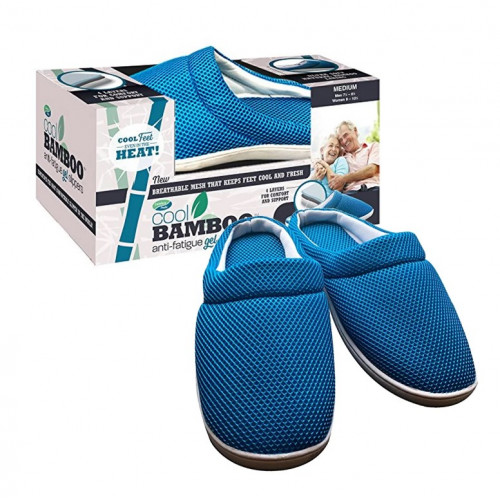 Тапочки Cool bamboo Anti-fatigue gel slippers