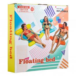 Надувной шезлонг для плавания Floating bed