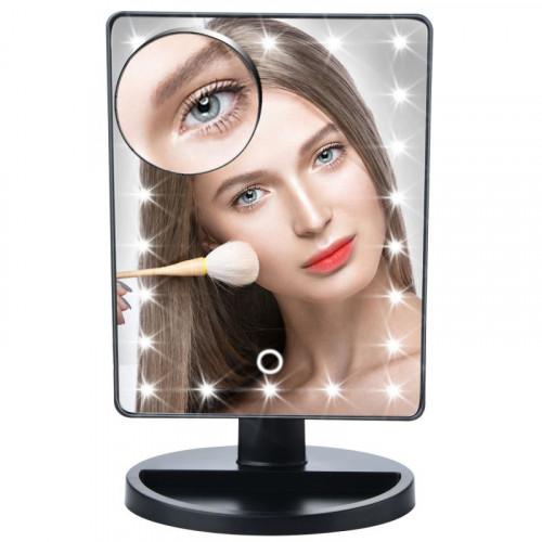 Косметическое зеркало с подсветкой Large Led